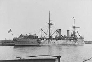 Irene-class cruiser - SMS Prinzess Wilhelm