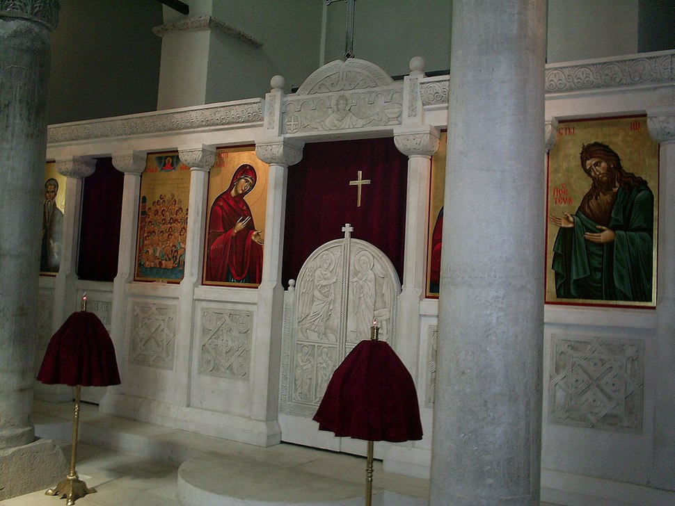 SS. Forty Martyrs Church Iconostasis