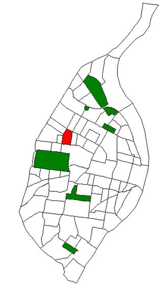 Academy, St. Louis - Image: STL Neighborhood Map 51