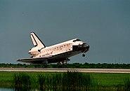 STS-105 landing