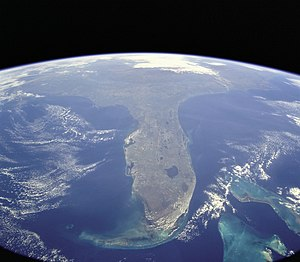 Peninsula - Florida, an example of a peninsula.