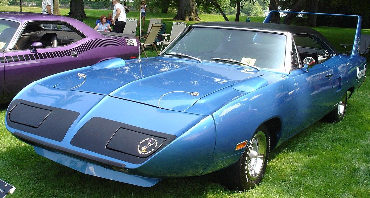 Plymouth Superbird – Wikipédia, a enciclopédia livre