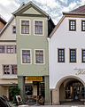 """Saalfeld Markt 13 Wohn- und Geschäftshaus Bestandteil Denkmalensemble """"Stadtkern Saalfeld-Saale"""".jpg"""