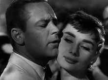 William Holden i Audrey Hepburn a Sabrina (1954)