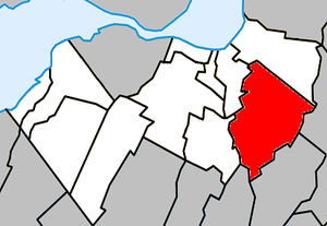 Saint-Philippe, Quebec - Image: Saint Philippe Quebec location diagram