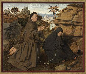 Saint Francis Receiving The Stigmata Van Eyck Wikipedia