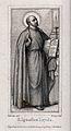 Saint Ignatius of Loyola. Engraving by F. Ludy after E. Stei Wellcome V0032198.jpg