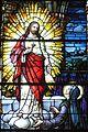 Saint Julie Billiart Catholic Church (Hamilton, Ohio) - stained glass, Sacred Heart and Saint Margaret Mary, detail.jpg