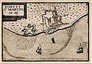 Saint Martin de Re before Vauban 17th century