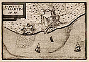 Saint-Martin-de-Ré - Image: Saint Martin de Re before Vauban 17th century