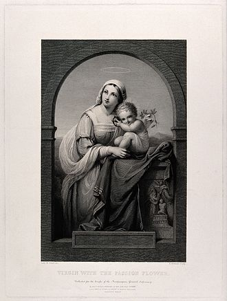 Marian Alford - Madonna and Child (Engraving after Lady M.M.V. Alford)