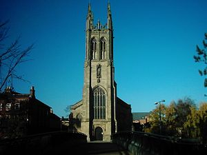 St Mary's Church, Derby - Image: Saint Marys Catholic Church, Bridge Gate, Derby