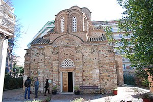 Church of Saint Panteleimon (Thessaloniki) - Image: Saint Pantaleon Church in Thessaloniki by George Groutas