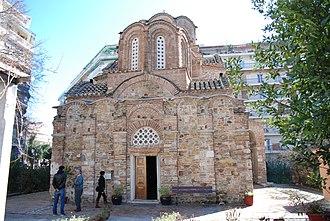 Church of Saint Panteleimon (Thessaloniki) - Image: Saint Pantaleon Church in Thessaloniki by George Groutas