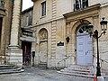 Saint Thomas DAquin Church Courtyard - Paris 2013.jpg