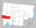 Sainte-Gertrude-Manneville Quebec location diagram.png