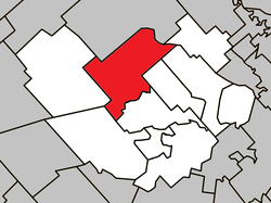 Location within Montcalm RCM