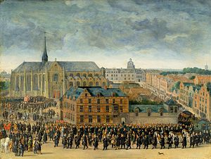 Folklore of Belgium - A depiction of the 1615 Brussels ''Ommegang''