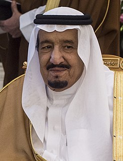 Salman of Saudi Arabia Current King of Saudi Arabia from 2015