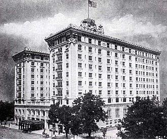 Joseph Smith Memorial Building - Hotel Utah, 1925.