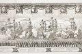 Saluterande örlogsfartyg vid Karl X Gustavs begravningståg, 1660-talet - Livrustkammaren - 108753.tif