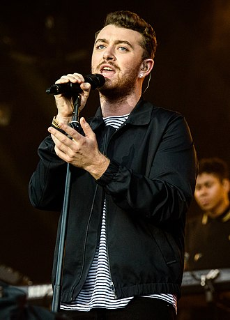 Sam Smith (singer) - Smith performing at the 2015 Lollapalooza