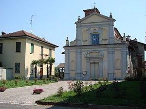 Certosa di Pavia (comune) - Image: Samperone San Brizio
