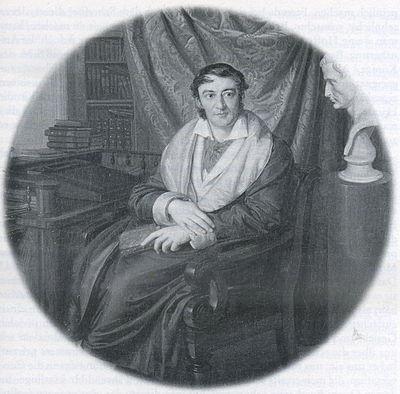 Samuel Heinrich Spiker, unbezeichnetes Gemälde, um 1830, (Berlin, Märkisches Museum) (Quelle: Wikimedia)