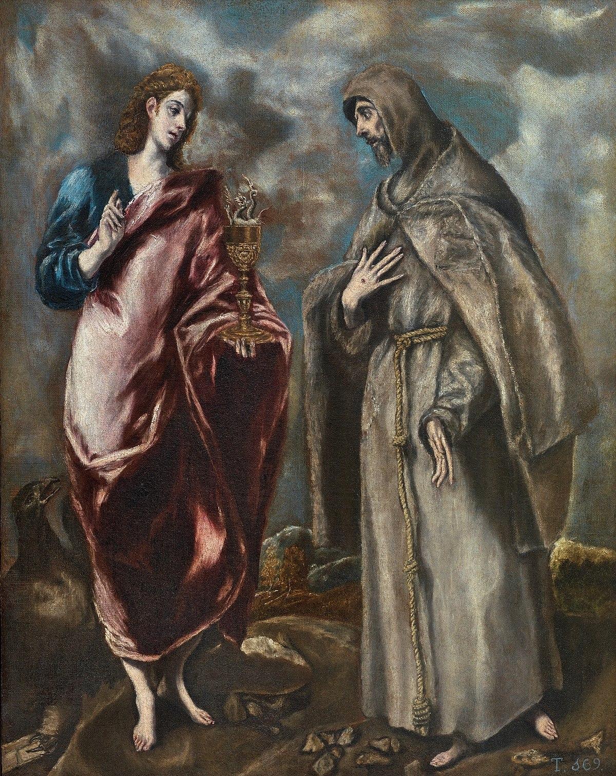 San Juan Evangelista y san Francisco de Asís - Wikipedia, la ...