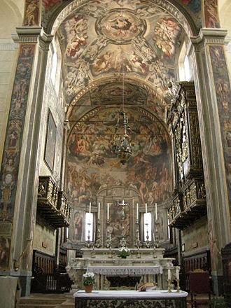 San Prospero, Reggio Emilia - Frescoed Apse