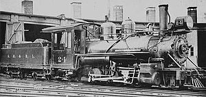 Sandy River Railroad - Steam locomotive Sandy River No. 24