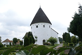 Nordic round churches - Image: Sankt Ols ydre 5