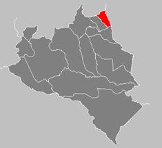 Ubicación de Municipio San Rafael de Onoto