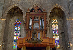 Music of Catalonia - The organ at Santa Maria del Mar, Barcelona