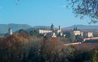 Santes Creus - View of the monastery.
