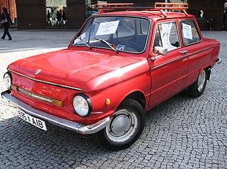 Automotive industry in Ukraine - ZAZ-968M Zaporozhets (1980-1994)