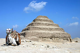 Saqqara village in Giza Governorate, Egypt