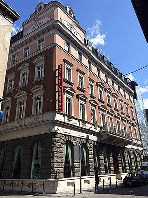 Hotel Europe (Sarajevo) - Historic building of Hotel Europe after restoration