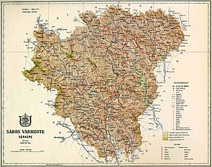 Image:Saros county map