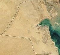 Kuwait desde el espacio