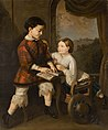 Saturnin Świerzyński - Uczące się dzieci 1861.jpg