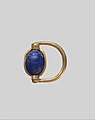 Scarab Finger Ring with the Names of Thutmose III and Hatshepsut MET DP319030.jpg