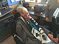 Scarfing Dr Stephen Hawking for the Portland Timbers.jpg