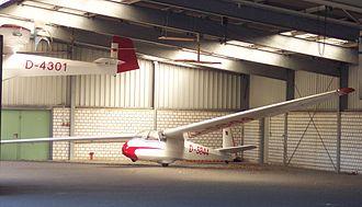 Schleicher K7 - Image: Schleicher K 7 D 5844 vl