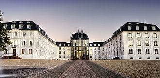 County of Nassau-Saarbrücken - Saarbrücken Palace