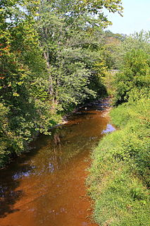 Schwaben Creek creek in Pennsylvania