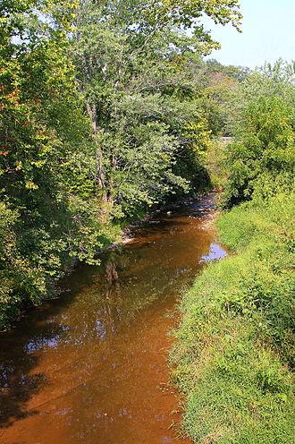 Schwaben Creek - Schwaben Creek looking upstream
