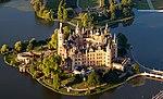 Schwerin Castle Aerial View Island Luftbild Schweriner Schloss Insel See (cropped).jpg