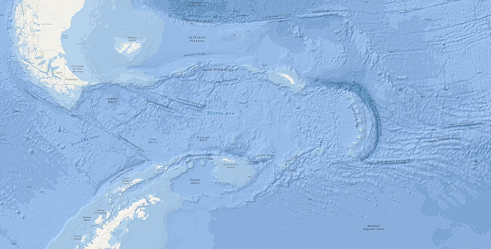 Scotia Sea NOAA