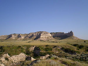 Scottsbluff, Nebraska - Scotts Bluff National Monument.